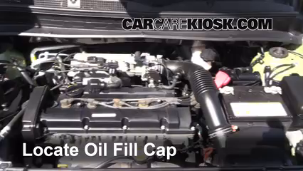 2011 Kia Soul Plus 2.0L 4 Cyl. Oil