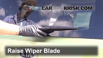 2011 Kia Soul Plus 2.0L 4 Cyl. Windshield Wiper Blade (Rear)