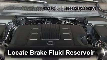 2011 Land Rover LR4 HSE 5.0L V8 Brake Fluid