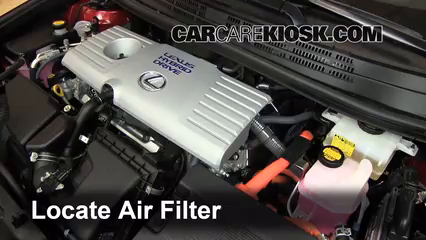 2011 Lexus CT200h 1.8L 4 Cyl. Air Filter (Engine)