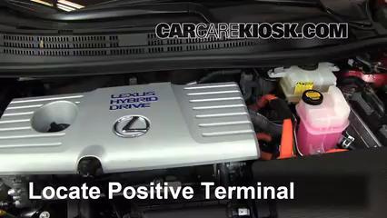 2011 Lexus CT200h 1.8L 4 Cyl. Batería Encendido de puente