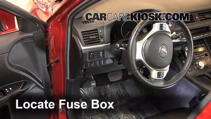 2011 Lexus CT200h 1.8L 4 Cyl. Fuse (Interior)
