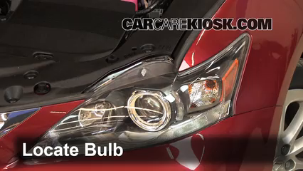 2011 Lexus CT200h 1.8L 4 Cyl. Luces Faro delantero (reemplazar foco)