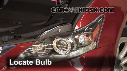 2011 Lexus CT200h 1.8L 4 Cyl. Luces Luz de estacionamiento (reemplazar foco)