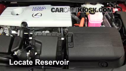 2011 Lexus CT200h 1.8L 4 Cyl. Windshield Washer Fluid