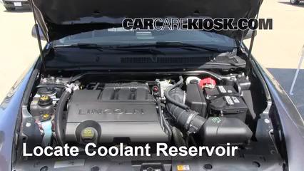 2011 Lincoln MKS 3.7L V6 Coolant (Antifreeze)