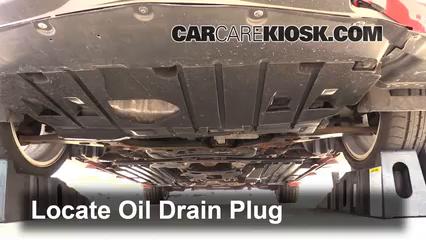 2011 Mazda 3 Mazdaspeed 2.3L 4 Cyl. Turbo Oil Change Oil and Oil Filter