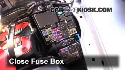 Replace a Fuse: 2007-2012 Mazda CX-7 - 2011 Mazda CX-7 Sport 2.5L 4 Cyl.