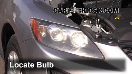 2011 Mazda CX-7 Sport 2.5L 4 Cyl. Lights Headlight (replace bulb)