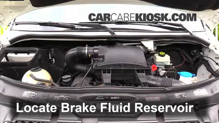 2011 Mercedes-Benz Sprinter 2500 3.0L V6 Turbo Diesel Standard Passenger Van Brake Fluid