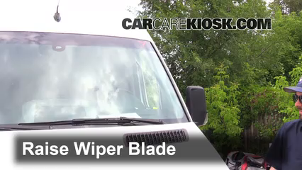 2011 Mercedes-Benz Sprinter 2500 3.0L V6 Turbo Diesel Standard Passenger Van Windshield Wiper Blade (Front)