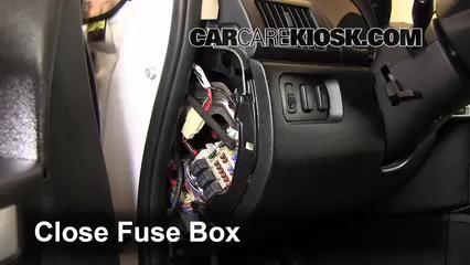 Interior Fuse Box Location 2004 2011 Mitsubishi Endeavor 2011 Mitsubishi Endeavor Ls 3 8l V6