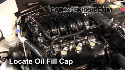 2011 Mitsubishi Endeavor LS 3.8L V6 Aceite Agregar aceite