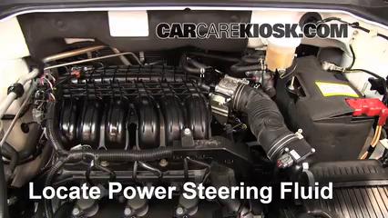 2011 Mitsubishi Endeavor LS 3.8L V6 Líquido de dirección asistida Sellar pérdidas