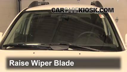 2011 Mitsubishi Endeavor LS 3.8L V6 Windshield Wiper Blade (Front)
