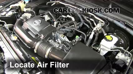 2011 Nissan Xterra S 4.0L V6 Air Filter (Engine)