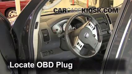 2011 Nissan Xterra S 4.0L V6 Check Engine Light