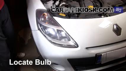 2011 Renault Clio dCi 1.5L 4 Cyl. Turbo Diesel Luces Luz de marcha diurna (reemplazar foco)