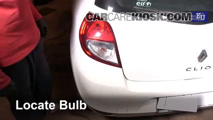 2011 Renault Clio dCi 1.5L 4 Cyl. Turbo Diesel Luces Luz de niebla (reemplazar foco)