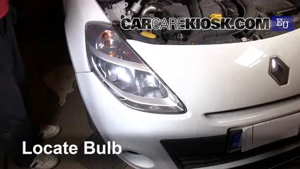 2011 Renault Clio dCi 1.5L 4 Cyl. Turbo Diesel Luces Luz de estacionamiento (reemplazar foco)