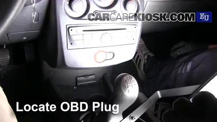 2011 Renault Clio dCi 1.5L 4 Cyl. Turbo Diesel Compruebe la luz del motor Diagnosticar
