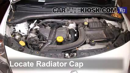2011 Renault Clio dCi 1.5L 4 Cyl. Turbo Diesel Refrigerante (anticongelante) Cambiar refrigerante