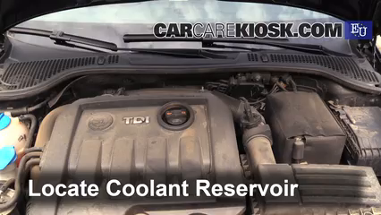 2011 Skoda Octavia TDI CR 2.0L 4 Cyl. Turbo Diesel Coolant (Antifreeze)