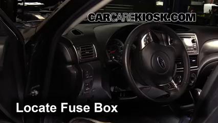 2011 Subaru Impreza 2.5i Premium 2.5L 4 Cyl. Wagon Fusible (interior) Cambio