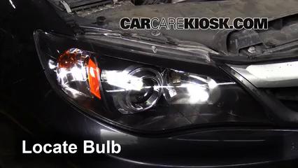 2011 Subaru Impreza 2.5i Premium 2.5L 4 Cyl. Wagon Luces Luz de estacionamiento (reemplazar foco)