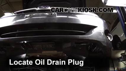2011 Subaru Impreza 2.5i Premium 2.5L 4 Cyl. Wagon Aceite Cambiar aceite y filtro de aceite