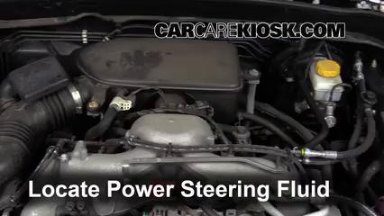 2011 Subaru Impreza 2.5i Premium 2.5L 4 Cyl. Wagon Pérdidas de líquido Líquido de dirección asistida (arreglar pérdidas)