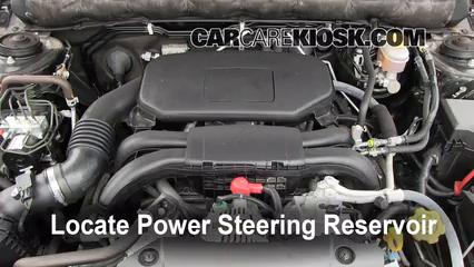 2011 Subaru Legacy 2.5i Premium 2.5L 4 Cyl. Líquido de dirección asistida