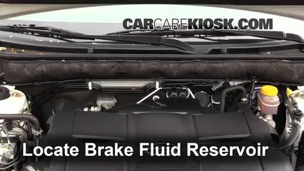2011 Subaru Outback 3.6R Limited 3.6L 6 Cyl. Brake Fluid