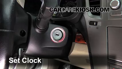 2011 Subaru Outback 3.6R Limited 3.6L 6 Cyl. Clock