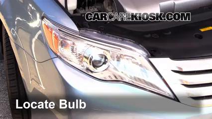 2011 Toyota Avalon 3.5L V6 Luces Luz de marcha diurna (reemplazar foco)