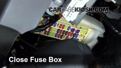 Interior Fuse Box Location: 2011-2019 Toyota Sienna - 2014 Toyota Sienna SE  3.5L V6   2014 Toyota Sienna Fuse Box      CarCareKiosk