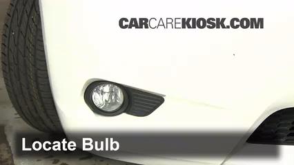 2011 Toyota Sienna XLE 3.5L V6 Luces Luz de niebla (reemplazar foco)