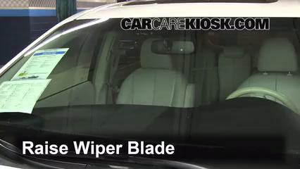 2011 Toyota Sienna XLE 3.5L V6 Escobillas de limpiaparabrisas delantero