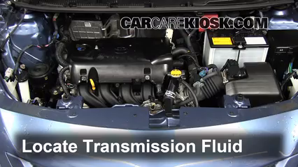 2011 Toyota Yaris 1.5L 4 Cyl. Sedan Transmission Fluid