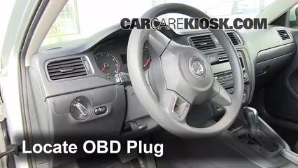 2011 Volkswagen Jetta SE 2.5L 5 Cyl. Sedan Check Engine Light