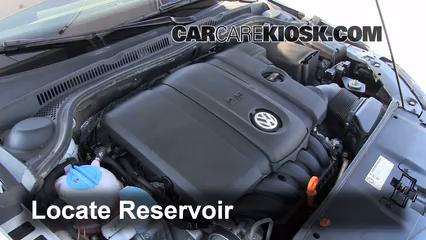 2011 Volkswagen Jetta SE 2.5L 5 Cyl. Sedan Windshield Washer Fluid