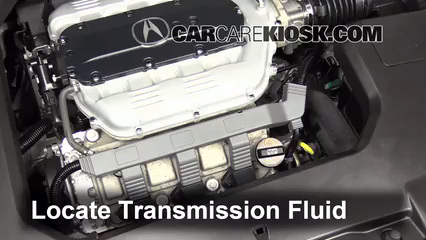 transmission fluid level check acura tl 2009 2014 2012 acura tl