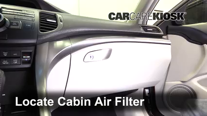 2012 Acura TSX 2.4L 4 Cyl. Wagon Air Filter (Cabin)