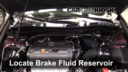 2012 Acura TSX 2.4L 4 Cyl. Wagon Brake Fluid