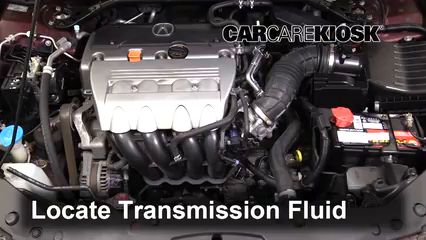 2012 Acura TSX 2.4L 4 Cyl. Wagon Transmission Fluid