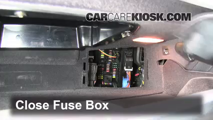 2012 BMW 528i xDrive 2.0L 4 Cyl. Turbo%2FFuse Interior Part 2 interior fuse box location 2010 2016 bmw 528i xdrive 2012 bmw BMW Fuse Box Location at soozxer.org