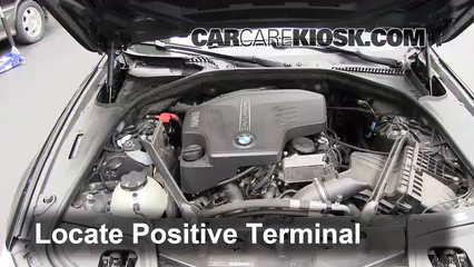 How to Jumpstart a 2010-2017 BMW 528i xDrive - 2012 BMW 528i xDrive
