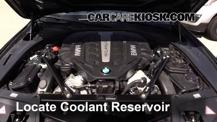 How to Add Coolant  BMW 550i xDrive  20102017   2012 BMW