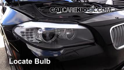 Check Oil Level 2010-2017 BMW 550i xDrive - 2012 BMW 550i
