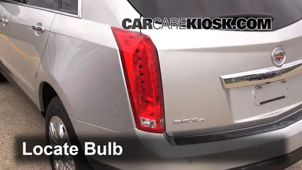 2012 Cadillac SRX Luxury 3.6L V6 FlexFuel Luces